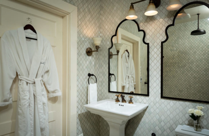 Edward Suite bathroom mirrors