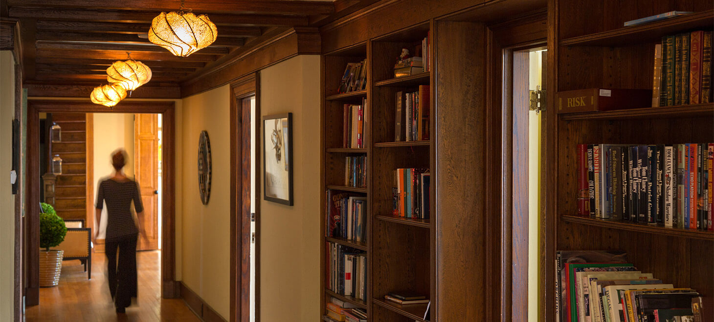 Hallway at Glen Gordon Manor