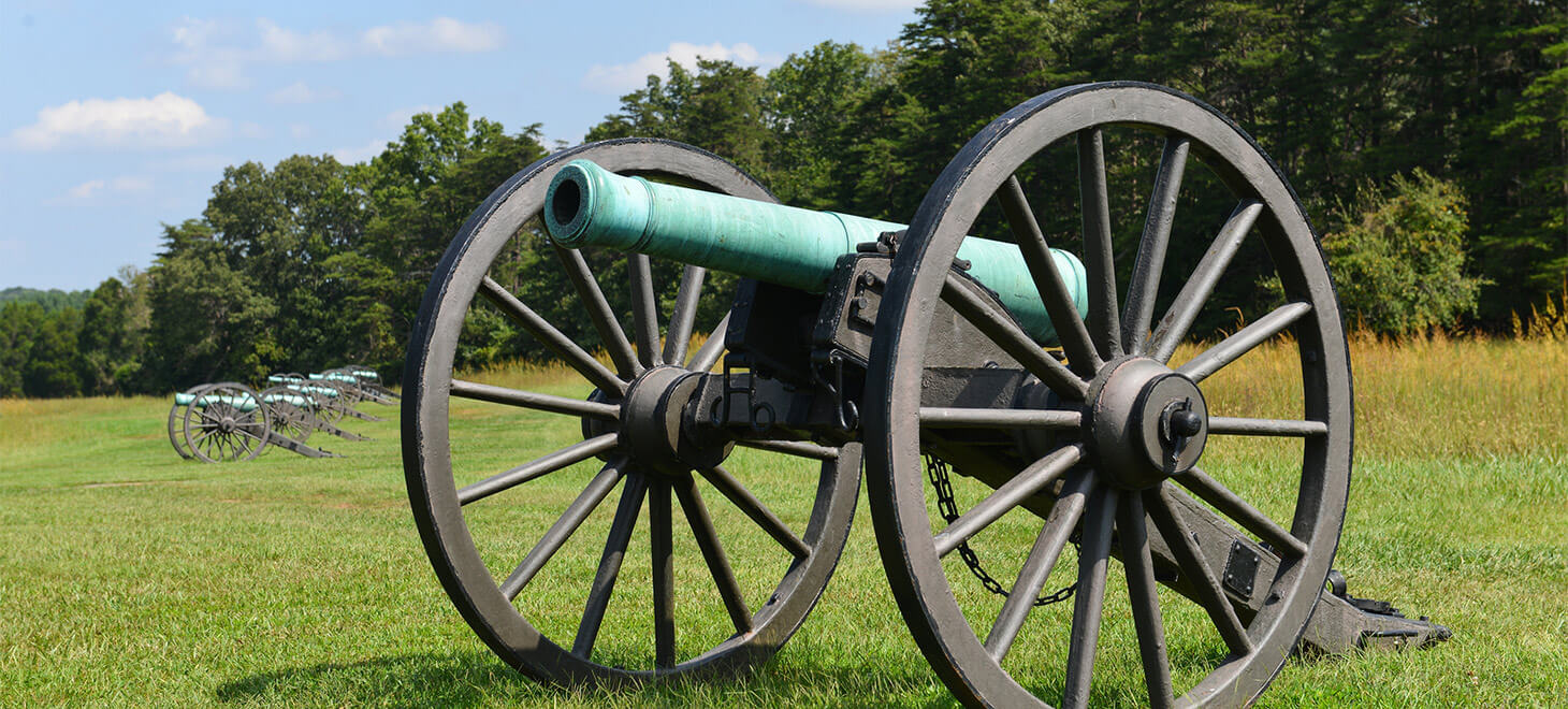 Old Cannon in Manassas National Battlefield