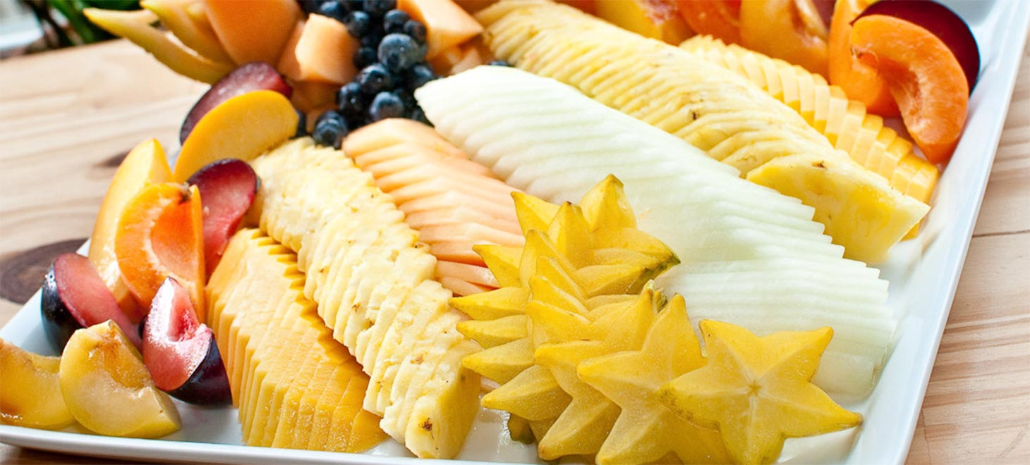 Gourmet Breakfast fruit selection