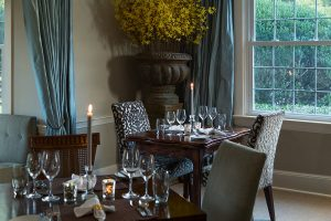 Houndstooth Restaurant dining tables