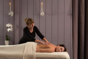 Massage at the spa