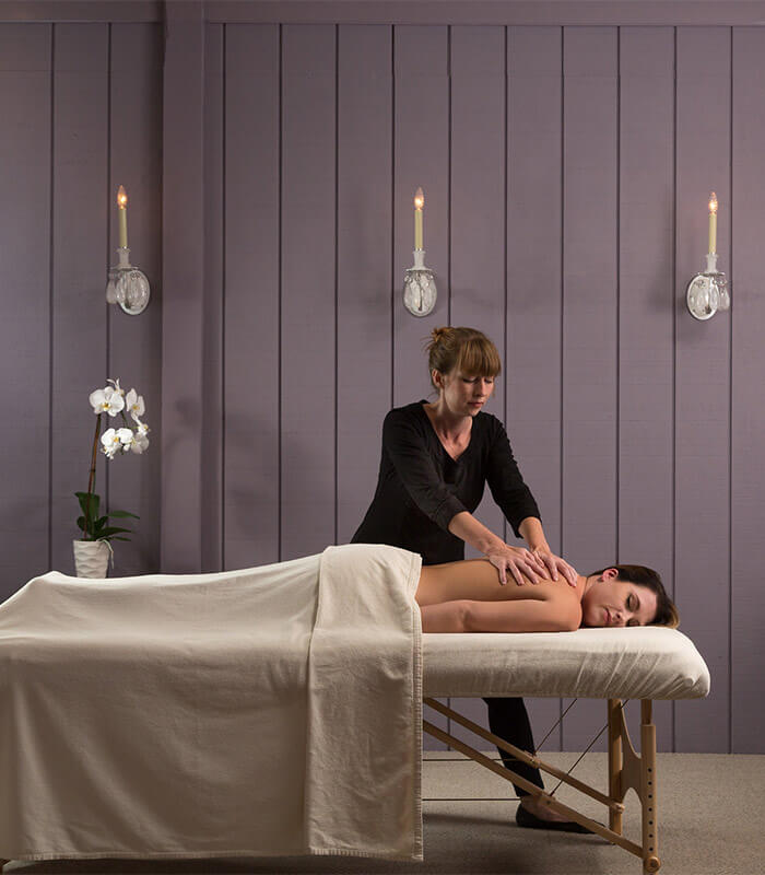 Spa Massage at Glen Gordon Manor
