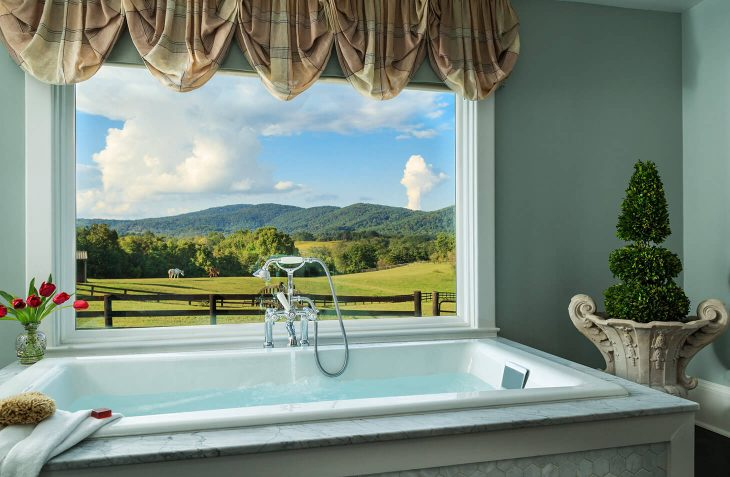 Windsor Suite soaking tub