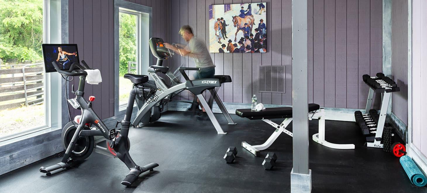 gym at Glen Gordon Manor